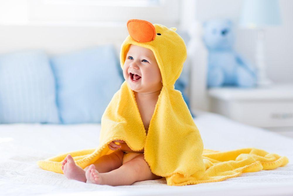 Igiene dei neonati e bambini in vacanza