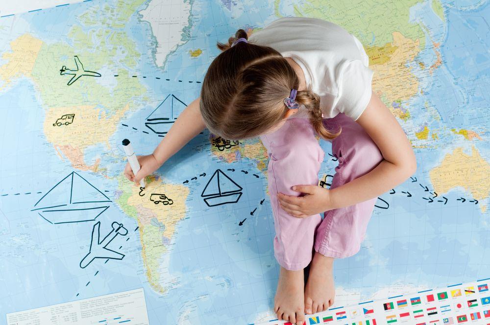 Vacanze all'estero con bambini piccoli